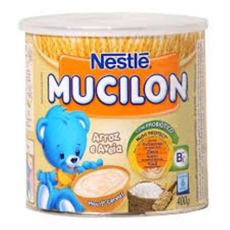 Mucilon Arroz e Aveia Nestle 400g