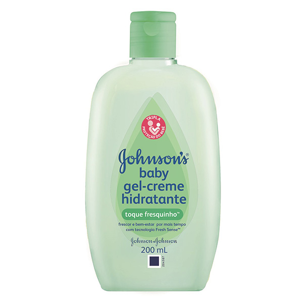 Hidratante Infantil Johnsons e Johnsons Gel Toque Fresquinho 200ml