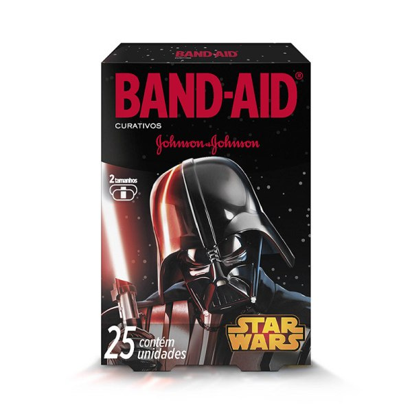 Curativo Band-Aid Star Wars 25 Unidades