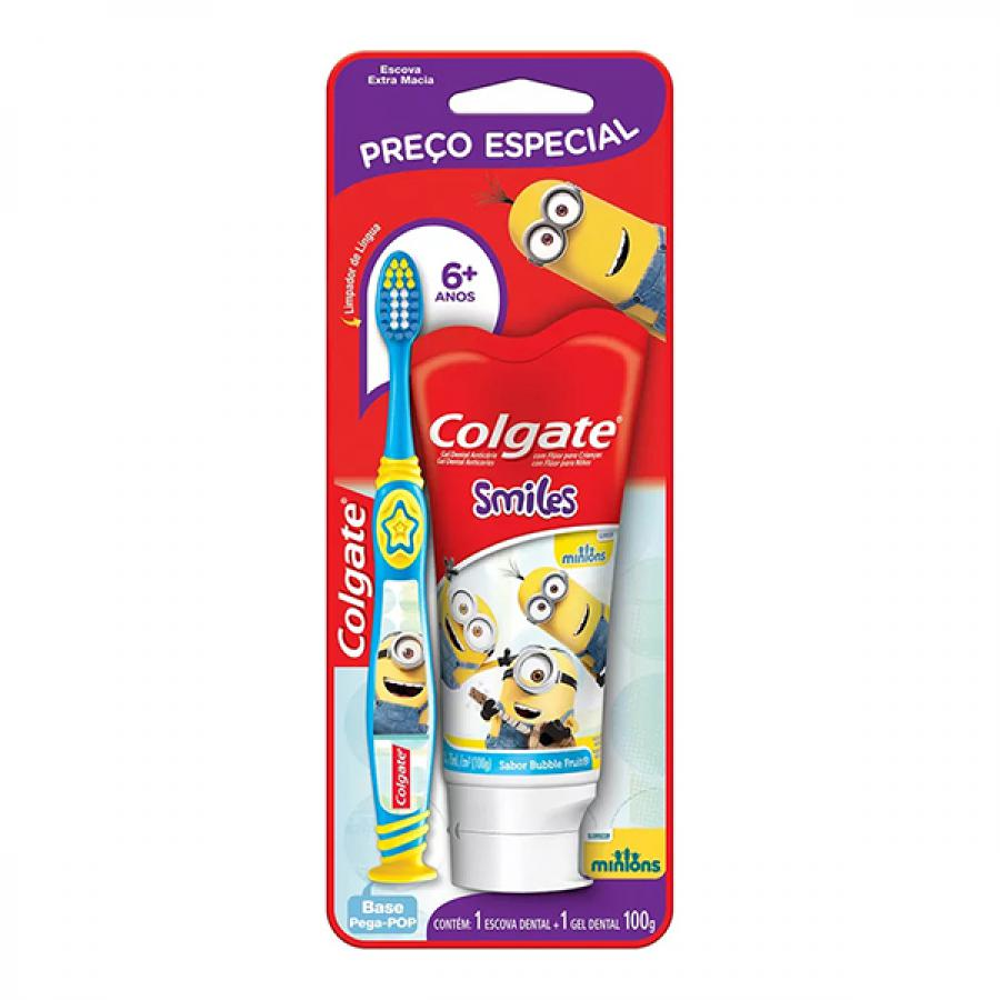 KIT COLGATE SMILES CD 100GR+ED