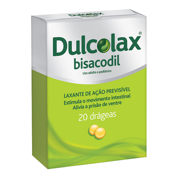 Dulcolax 5mg 20 drageas