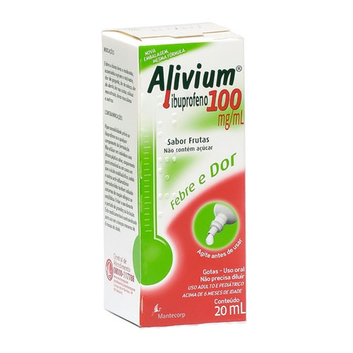 Alivium 100mg Gotas 20mL
