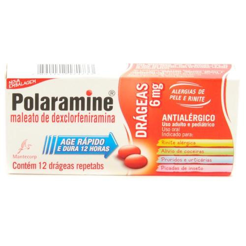 POLARAMINE REPETABS C/12 DRAGEAS