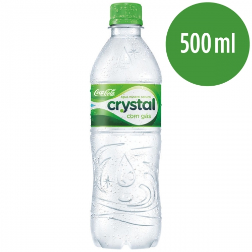 Agua Mineral Com Gas Crystal 500ml