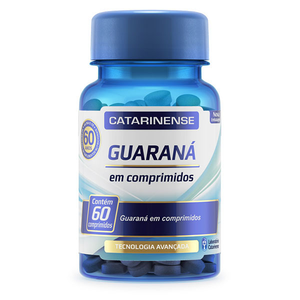 GUARANA CATARINENSE COM 60 COMPRIMIDOS
