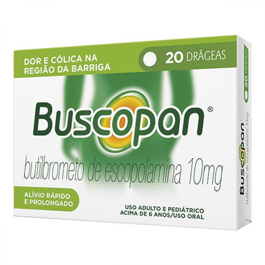 Buscopan 10mg 20 drageas