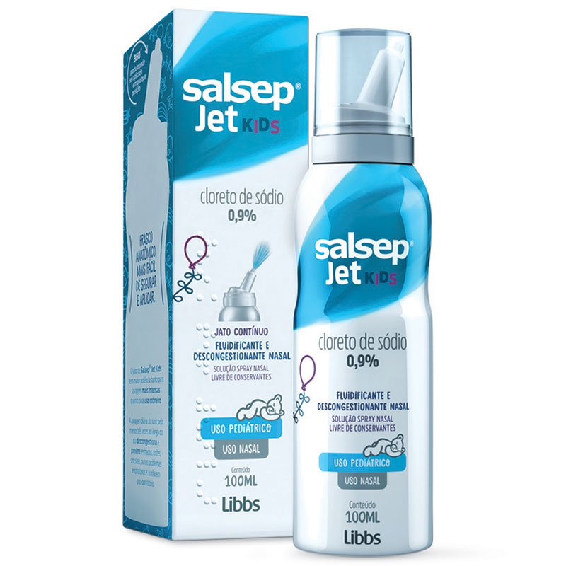 Salsep Jet Kids 0,9% 100ml