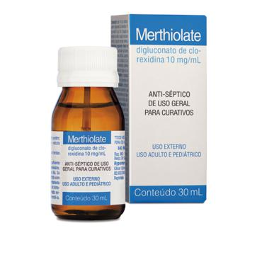 Merthiolate Topico 30ml Solucao