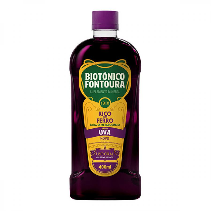 Biotonico Fontoura Uva 400mL
