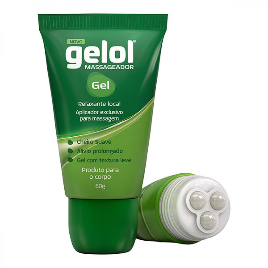 Gel Massageador Gelol 60g