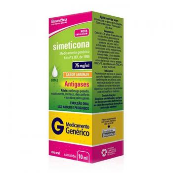 SIMETICONA  75MG GTS 10ML BIO.G