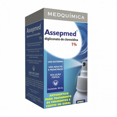 AssepmED 1% solucao topica spray 50ml