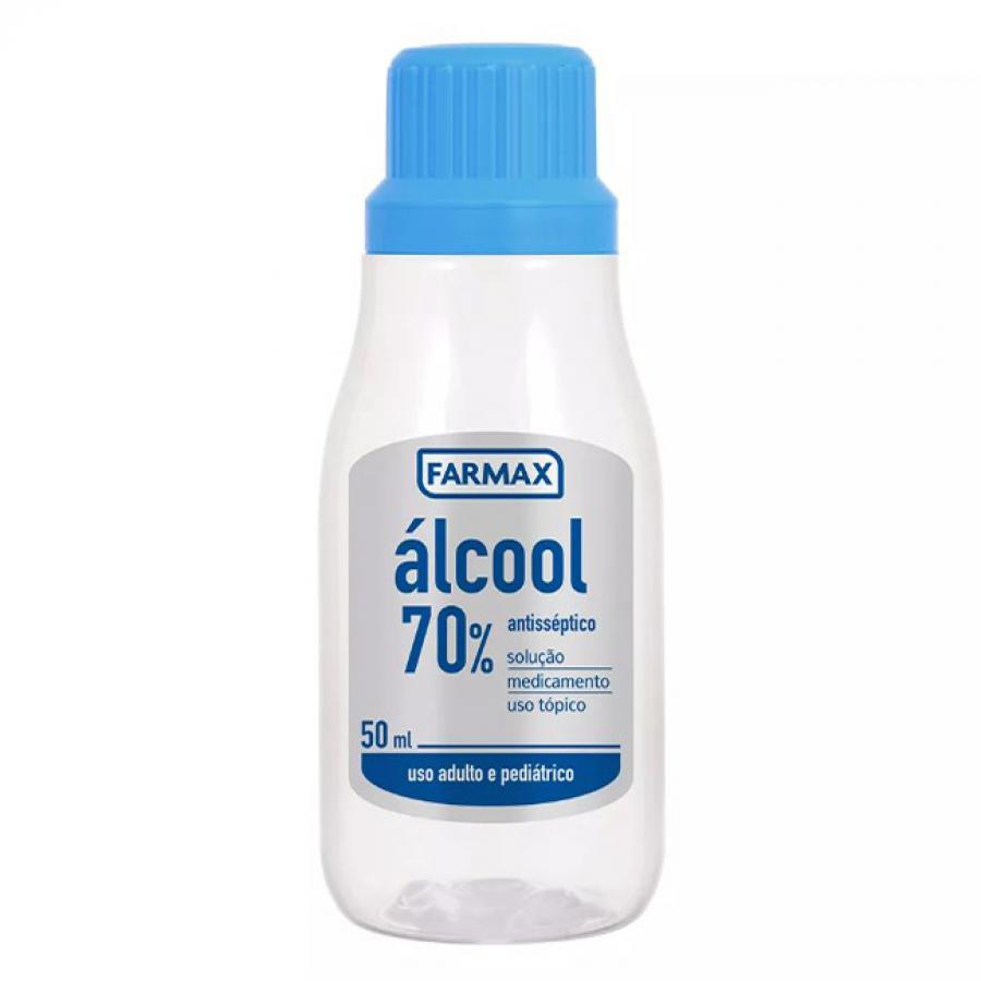 Alcool 70% 50ml  Farmax