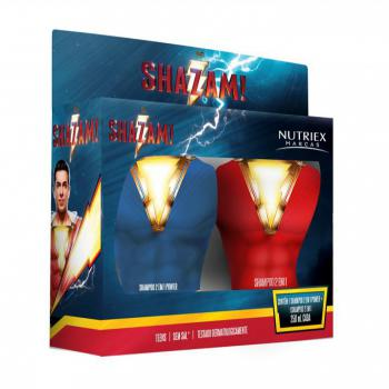 kit nutriex shazam shampoo 2x1 power 250ml+shampoo 2x1 250ml