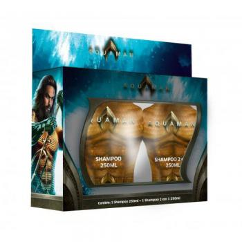 kit nutriex aquaman 2 shampoo 2x1 250ml