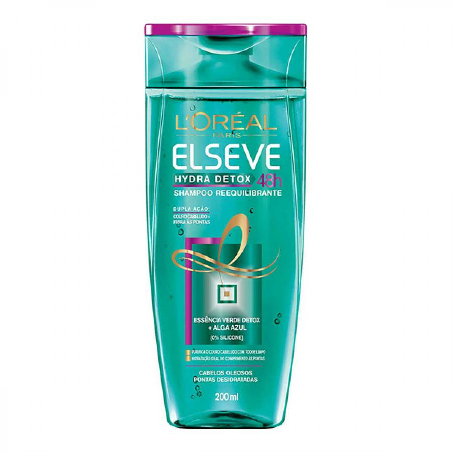 Shampoo Reequilibrante Elseve Hydra Detox 48h 200ml